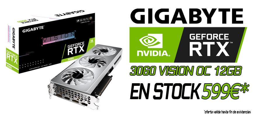 Gigabyte Geforce RTX 3060 OC 12 GB